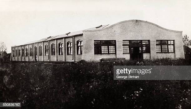 Wright Brothers airplane factory at Dayton Ohio 1912