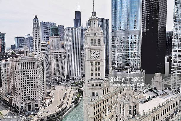 Wrigley Building In City