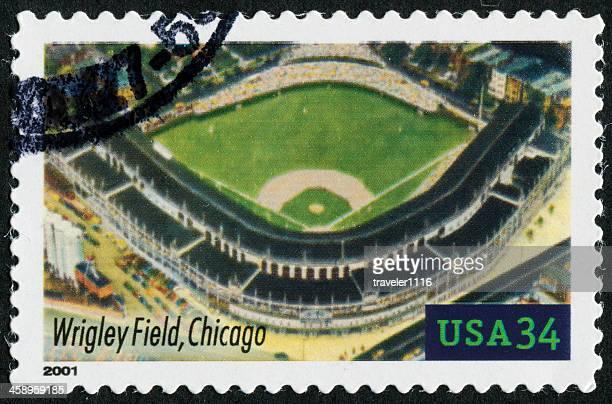 Wrigley Field, Chicago Stamp