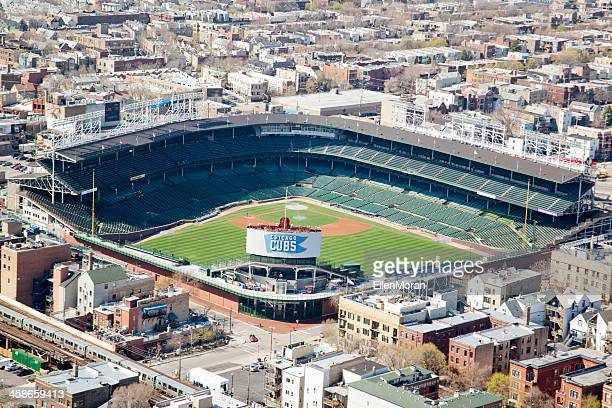 wrigley field - cubs stock pictures, royalty-free photos & images