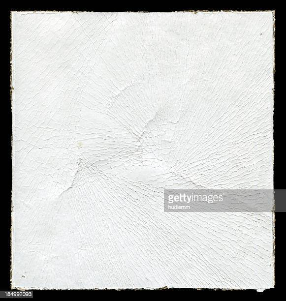 Wrinkled paper background textured isolated