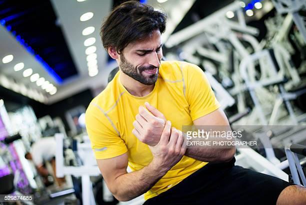 Wrist injury during workout routine