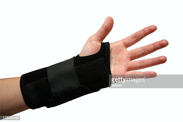 wrist injury - brace stock pictures, royalty-free photos & images