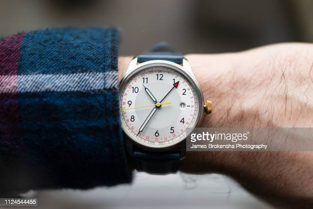wrist watch - wrist stock pictures, royalty-free photos & images
