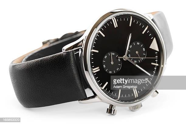 wristwatch (clipping path) - wrist watch stock pictures, royalty-free photos & images