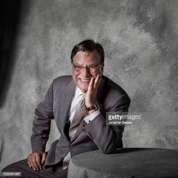 Writer Aaron Sorkin poses for a portrait at the Savannah Film Festival on October 28 2017 at Savannah College of Art and Design in Savannah Georgia