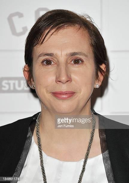 Writer Abi Morgan arrives for the Moet British Independent Film Awards at Old Billingsgate Market on December 4 2011 in London England