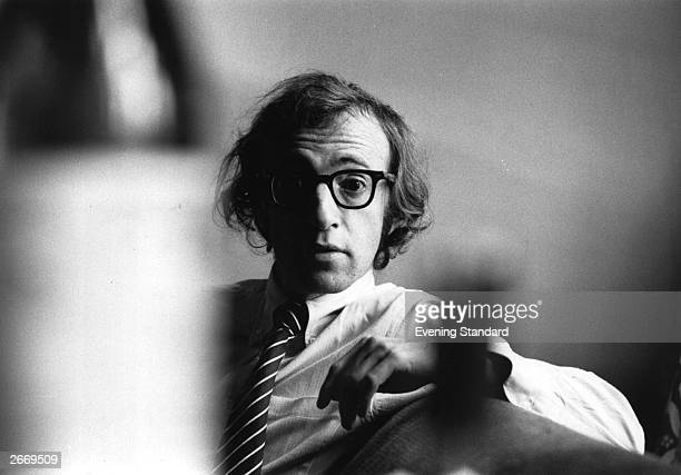 US writer actor and film director Woody Allen