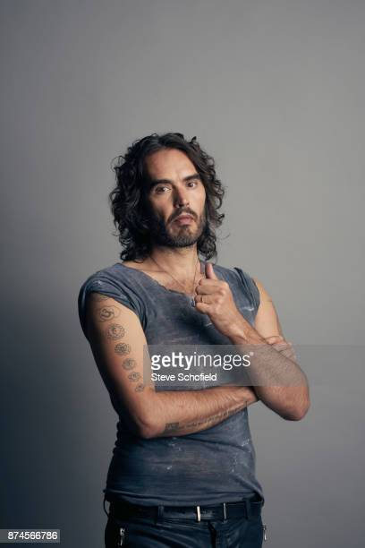 Writer actor comedian and campaigner Russell Brand is photographed on September 5 2017 in London England