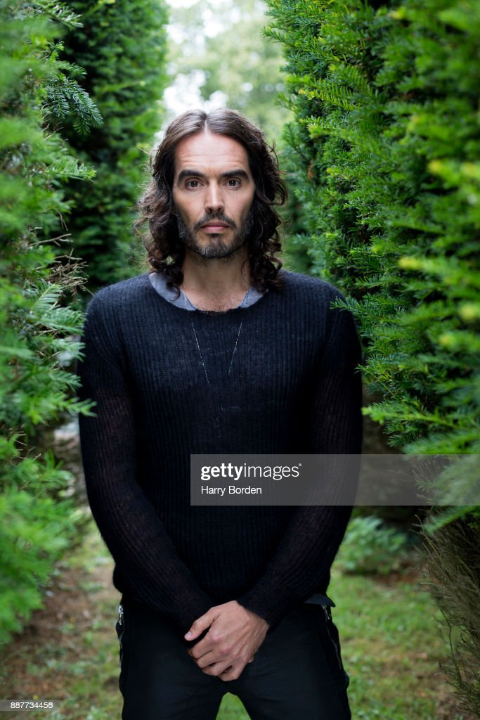 Writer, actor, comedian and campaigner Russell Brand is photographed for the Guardian on May 10, 2017 in London, England.