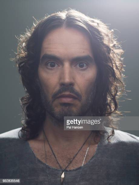 Writer actor comedian and campaigner Russell Brand is photographed for Grazia magazine on June 22 2017 in London England