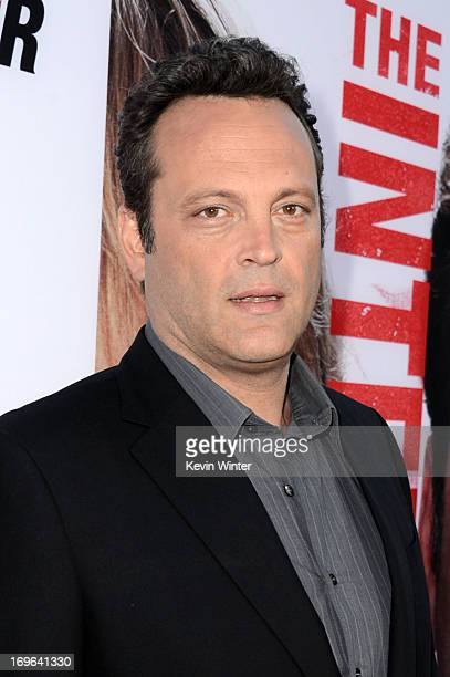 Writer/ actor Vince Vaughn arrives at the premiere of Twentieth Century Fox's The Internship at Regency Village Theatre on May 29 2013 in Westwood...