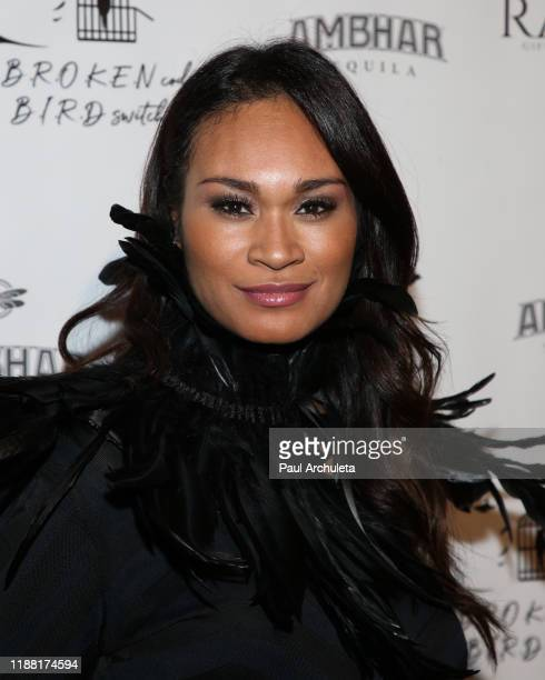Writer / Actress Tara L Wilson North attends the media night preview of BROKEN Code BIRD Switching at S Feury Theater on November 16 2019 in Los...