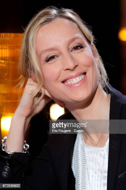 Writer Adelaide de ClermontTonnerre poses during a portrait session in Paris France on