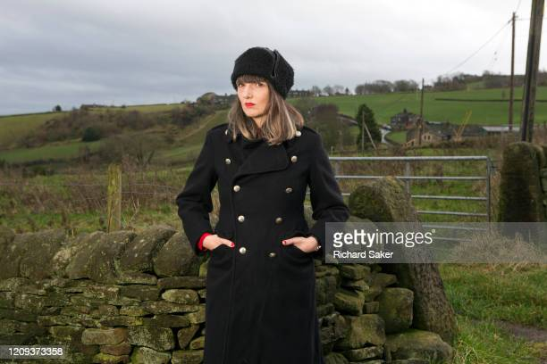 Writer Adelle Stripe photographed for the Observer near her home in Mytholmroyd in West Yorkshire England on December 19 2019