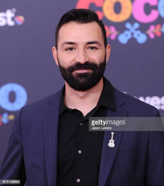 Writer Adrian Molina attends the premiere of 'Coco' at El Capitan Theatre on November 8 2017 in Los Angeles California