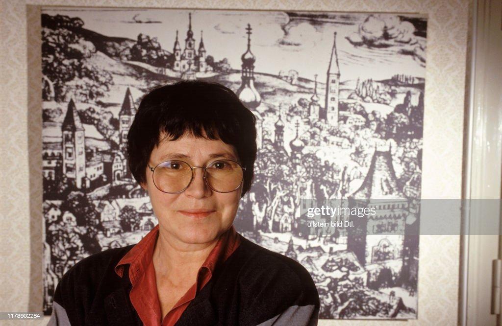 Writer Agota Kristof 1991 : Fotografía de noticias