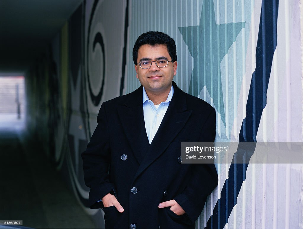 Writer Akhil Sharma in Cardiff, Wales on March 28, 2000. Sharma is the author of 'The Obedient Father'.