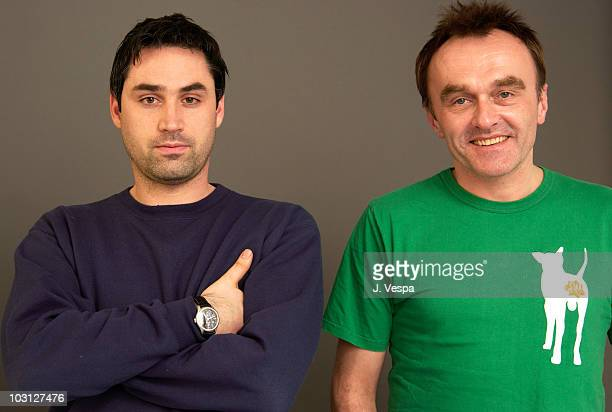 Writer Alex Garland and director Danny Boyle