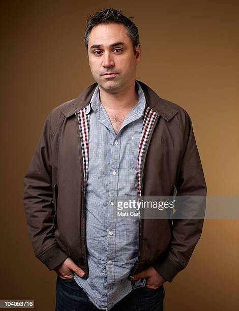 writer Alex Garland from Never Let Me Go poses for a portrait during the 2010 Toronto International Film Festival in Guess Portrait Studio at Hyatt...