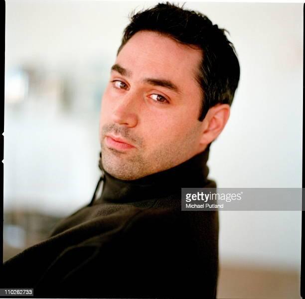 Writer Alex Garland portrait London April 2003