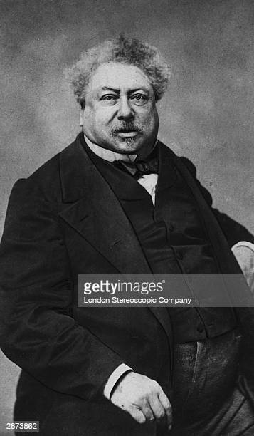 Writer Alexandre Dumas author of 'The Three Musketeers' and known as Dumas 'pere'