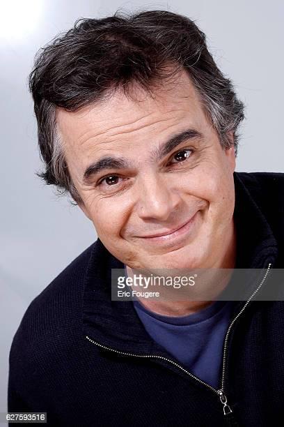 Writer Alexandre Jardin Photographed in PARIS