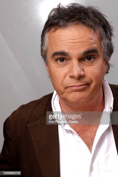 Writer Alexandre Jardin poses during a portrait session in Paris France on
