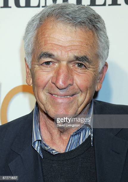 Writer Alvin Sargent arrives at the 101 Greatest Screenplays gala reception at the Writers Guild Theater on April 6 2006 in Beverly Hills California