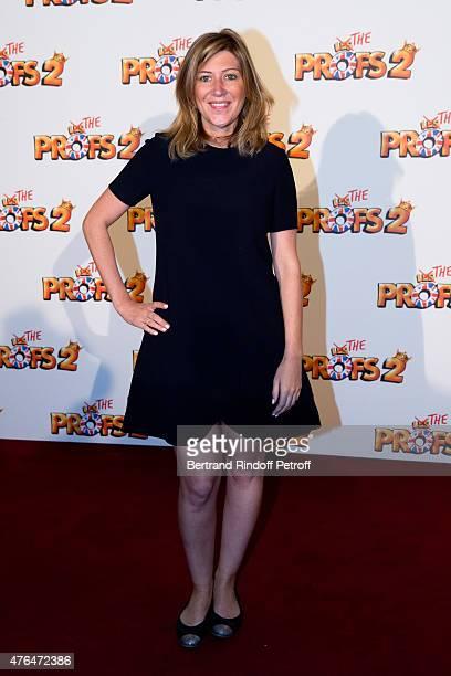 Writer Amanda Sthers attends 'Les Profs 2' Paris Premiere at Le Grand Rex on June 9 2015 in Paris France