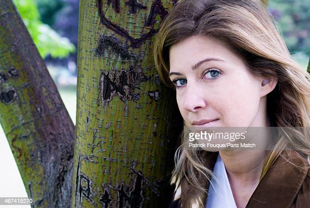 Writer Amanda Sthers is photographed for Paris Match on June 11 2012 in Paris France
