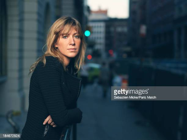 Writer Amanda Sthers is photographed for Paris Match on September 20 2013 in New York City