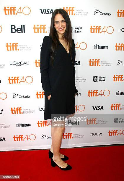 Writer Amy Koppelman attends the I Smile Back premiere during the 2015 Toronto International Film Festival at Princess of Wales Theatre on September...