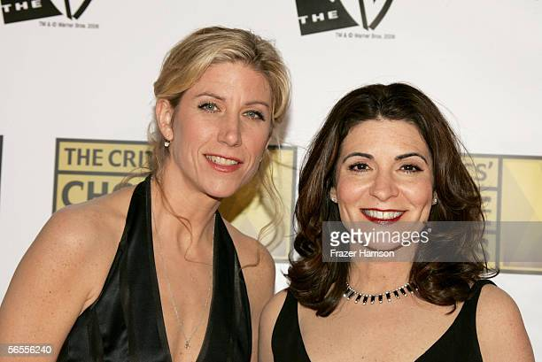 Writer Amy Sewell and director/producer Marilyn Agrelo arrive at the 11th Annual Critics' Choice Awards held at the Santa Monica Civic Auditorium on...