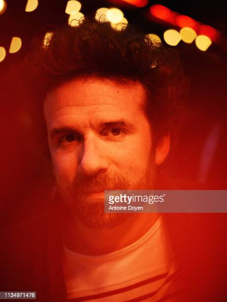 Writer and activist Cyril Dion poses for a portrait on February 22 2019 in Paris France