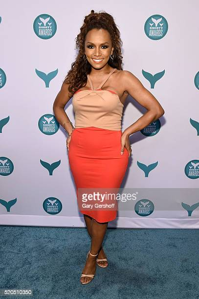 Writer and activist Janet Mock attends The 8th Annual Shorty Awards at The Times Center on April 11 2016 in New York City