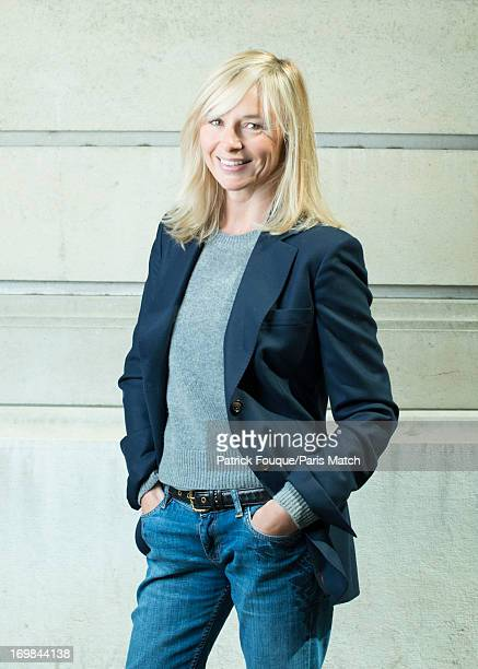 Writer and actor Anais Jeanneret is photographed for Paris Match on May 16 2013 in Paris France