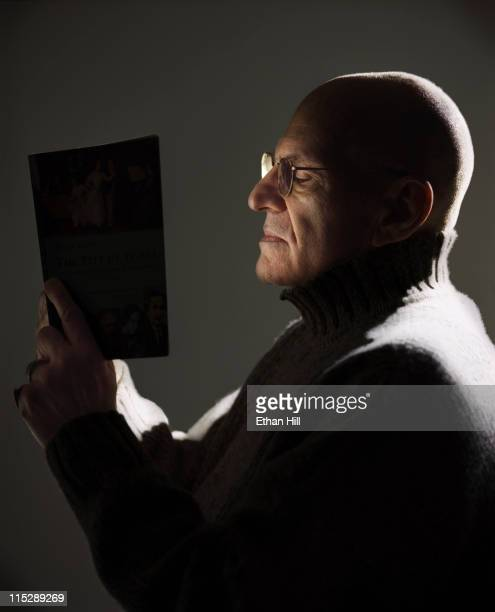 Writer and AIDS activist Larry Kramer photographed for POZ Magazine in 2007 New York City