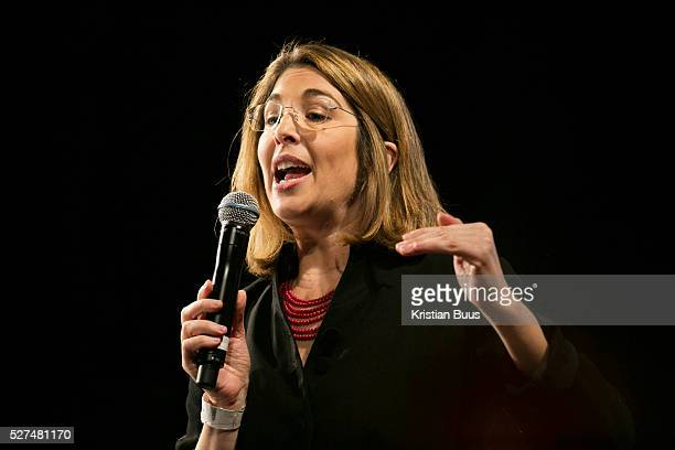Writer and campaigner Naomi Klein Pathway to Paris set up by Jesse Paris Smith and Rebecca Foon Live at Le Trianon Paris coinciding with the climate...