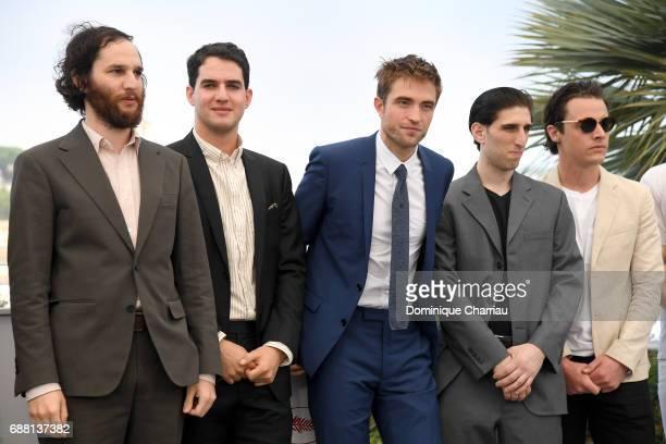 Writer and Codirector Joshua Safdie Codirector Ben Safdie actor Robert Pattinson actor Buddy Duress and producer Oscar Boyson attend the 'Good Time'...