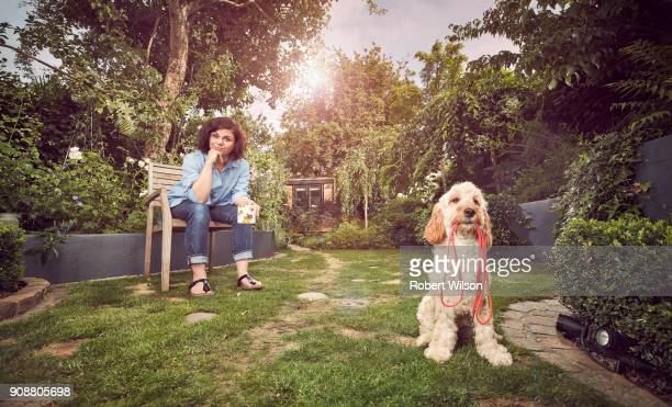 Writer and columnist Caitlin Moran is photographed for the Times on July 7 2017 in London England