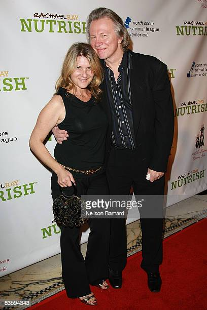 Writer and comedian Fred Norris and wife attend the North Shore Animal League America's 2008 DogCatemy celebrity gala at Capitale on November 6 2008...