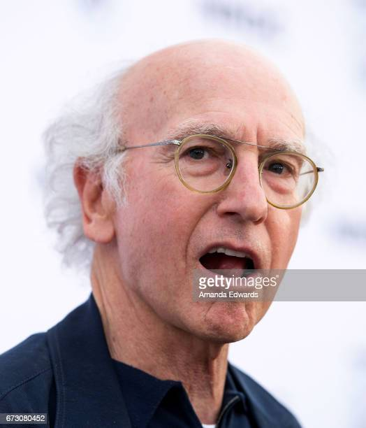 Writer and comedian Larry David arrives at the Natural Resources Defense Council's STAND UP! event at the Wallis Annenberg Center for the Performing...