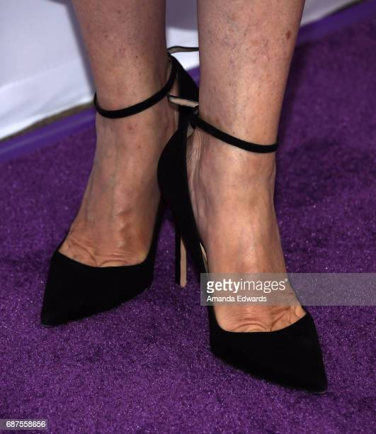 Writer and comedian Samantha Bee shoe detail arrives at TBS' Full Frontal With Samantha Bee For Your Consideration Event at the Samuel Goldwyn...