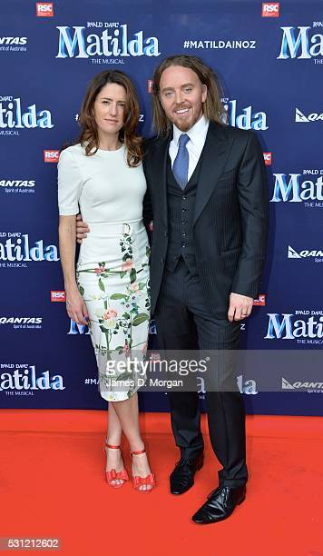 Writer and comedian Tim Minchin attends the opening night of Matilda the Musical along with Bryan Adams and other friends on March 17 2016
