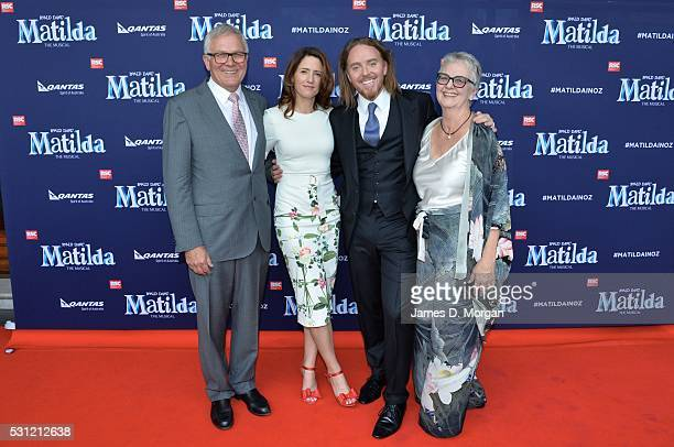 Writer and comedian Tim Minchin attends the opening night of Matilda the Musical along with Bryan Adams and other friends on March 17, 2016