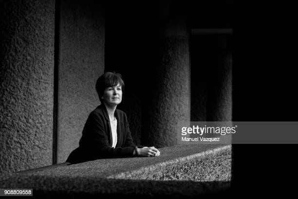Writer and critic Olivia Laing is photographed for El Pais on November 8 2017 in London England