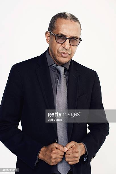Writer and director Abderrahmane Sissako poses for a portraits at the 87th Academy Awards Nominee Luncheon at the Beverly Hilton Hotel on February 2...