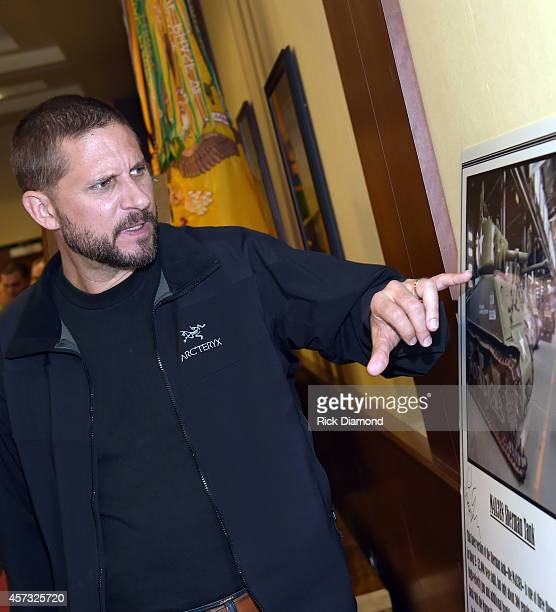 """Writer and Director David Ayer attends """"Fury"""" - Fort Benning Georgia Special Screening on October 16, 2014 in Columbus, Georgia."""