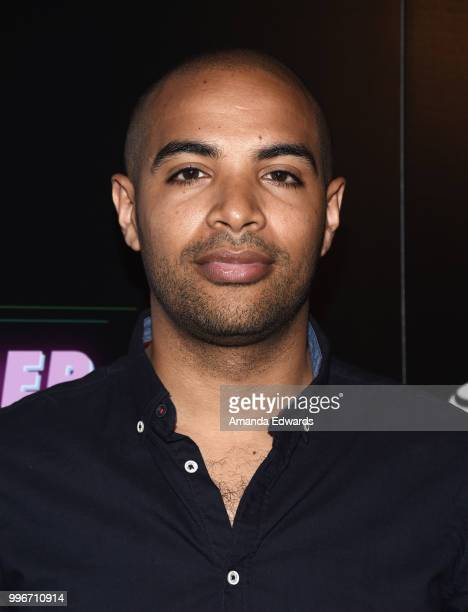 Writer and director Elijah Bynum arrives at the Los Angeles special screening of 'Hot Summer Nights' at the Pacific Theatres at The Grove on July 11...